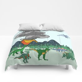 Dino Scene Comforters