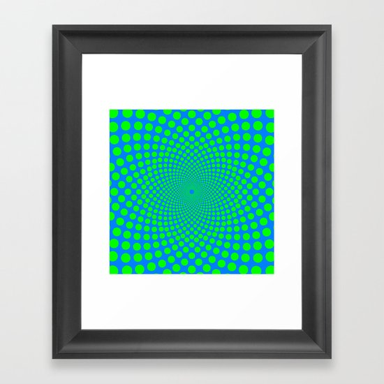 modcushion 1 Framed Art Print