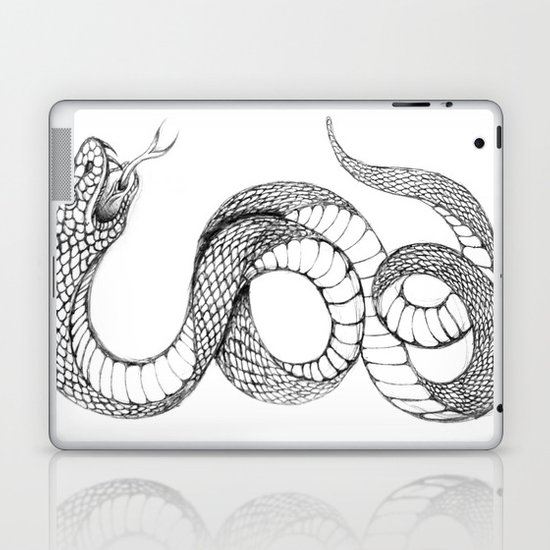 snake 02 Laptop & iPad Skin