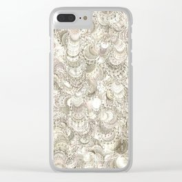 Abstract graphic pattern by Leslie Harlow Clear iPhone Case