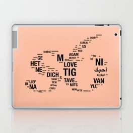 All languages ​​of the world Laptop & iPad Skin