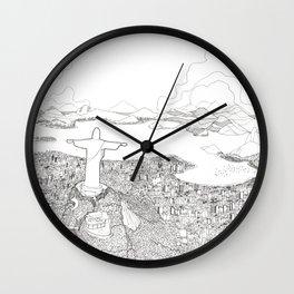 Rio di Janeiro Wall Clock