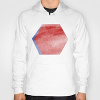 hexagon Hoodies featuring Hexagon by Andrew Markovits