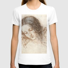 Leonardo da Vinci - Head of Leda T-shirt