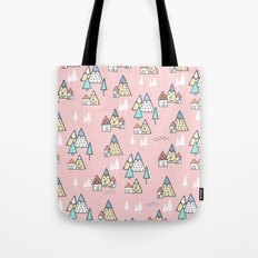 PINK MAGIC FOREST Tote Bag
