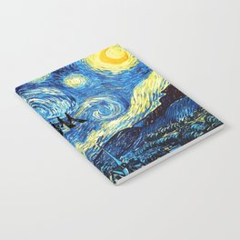 The Doctors Walking Of Starry Night Notebook
