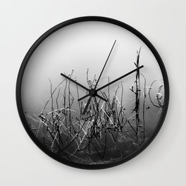 Echoes Of Reeds 3 Wall Clock