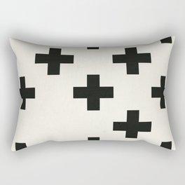 Crosses III Rectangular Pillow