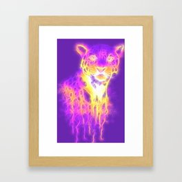 Webbed Jaguar Framed Art Print