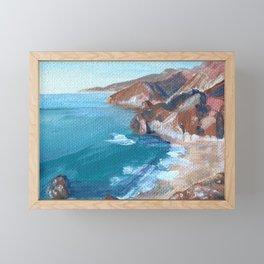 Big Sur No.1 Framed Mini Art Print