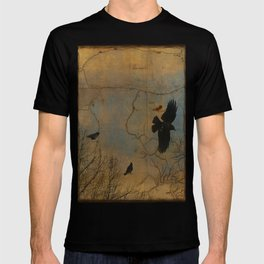 A Vintage Flight Of The Crows T-shirt
