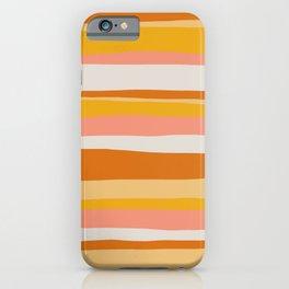 sedona, desert stripes iPhone Case