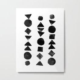 Geometry 3 Metal Print
