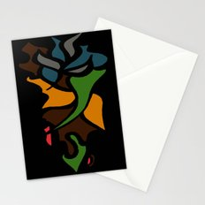 Abstract Puzzle Stationery Cards