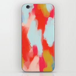 Summer In Abstract iPhone Skin