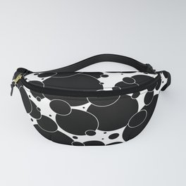 Black And White Pop 1 Fanny Pack