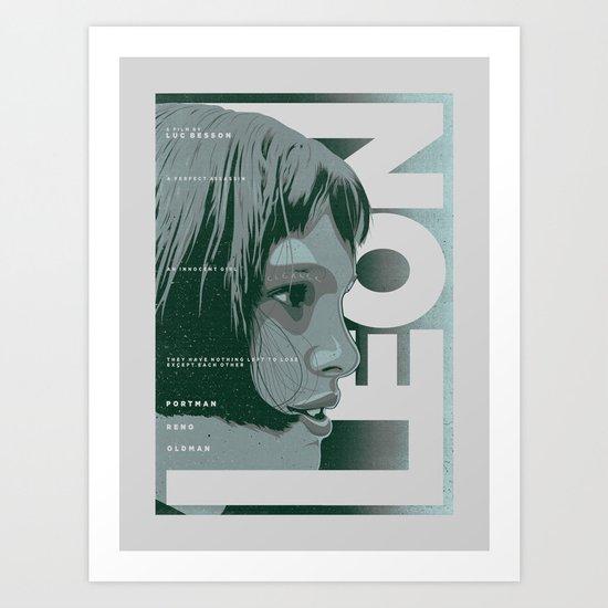LEON (Natalie Portman Series) Art Print