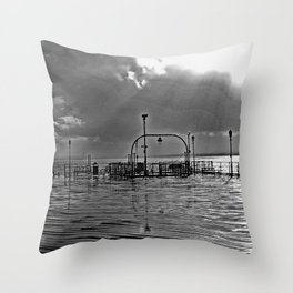 ThePier bywhacky Throw Pillow
