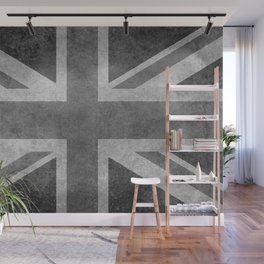 UK flag, High quality 1:2 Vintage Wall Mural