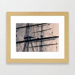 Cutty Sark Framed Art Print