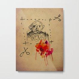 Dissenter Metal Print
