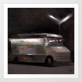 Taco Truck Art Print