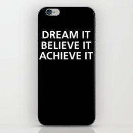 Motivational iPhone Skin