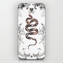 Rose Gold Snake iPhone Skin