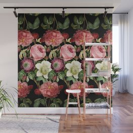 Fun with Florals ii Wall Mural
