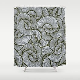 Work Shower Curtain