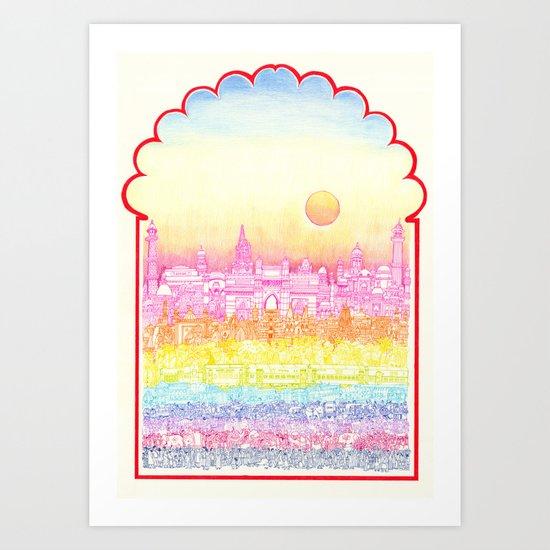Rangeela India  Art Print