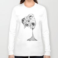the thing Long Sleeve T-shirts featuring Thing by Isabel Moffly