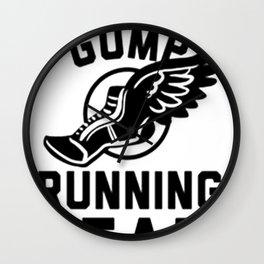 FORREST GUMP RUNNING TEAM Wall Clock