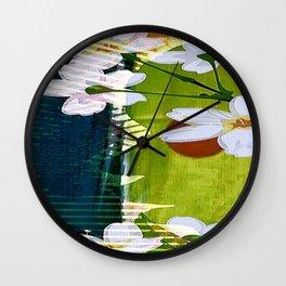 Cabsink16DesignerPatternATW Wall Clock