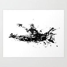 Kayaker in the Fog Art Print