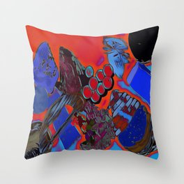 Ploughmans Throw Pillow