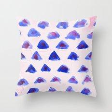 Mini Mountains Throw Pillow