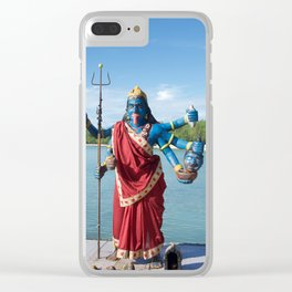 Goddess et trident Clear iPhone Case