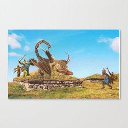 Sneak Attack Canvas Print