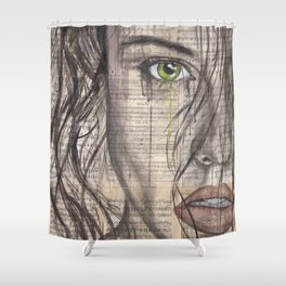 My Addiction Shower Curtain