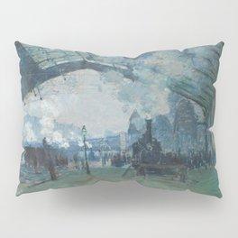 Claude Monet - Arrival of the Normandy Train Pillow Sham