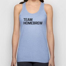 Team Homebrew Unisex Tank Top