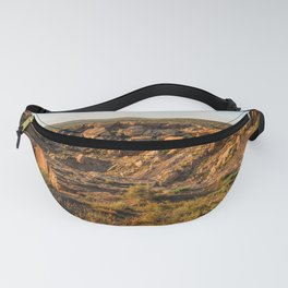 Petrified Forest National Park Landscape in Arizona Fanny Pack