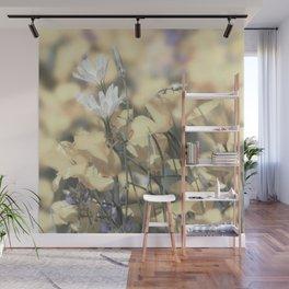 Yellow Poppy Wildflower Art by Murray Bolesta Wall Mural