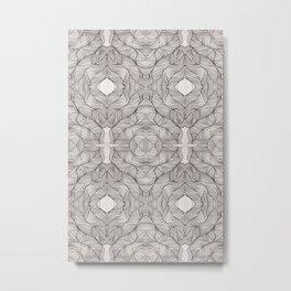 Lacy Roses Metal Print