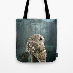 Winter Moon Tote Bag