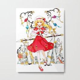 Touhou - Flandre Scarlet Metal Print