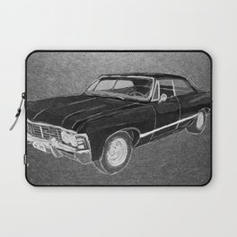 '67 Chevy Impala (Supernatural) Laptop Sleeve