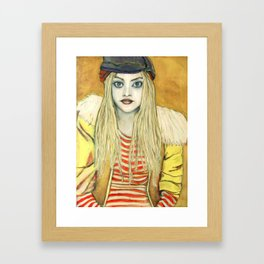 Aagje Framed Art Print