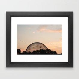 Biosphere Montreal Framed Art Print